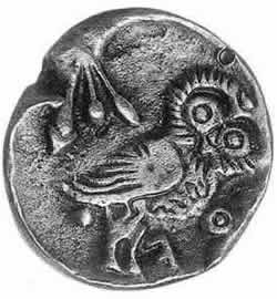 古代オリンピックメダル